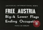 Image of Austrian independence ceremony 1955 Vienna Austria, 1955, second 1 stock footage video 65675062931