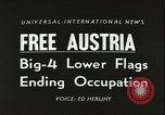 Image of Austrian independence ceremony 1955 Vienna Austria, 1955, second 3 stock footage video 65675062931