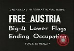 Image of Austrian independence ceremony 1955 Vienna Austria, 1955, second 5 stock footage video 65675062931