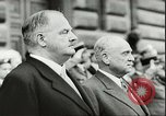 Image of Austrian independence ceremony 1955 Vienna Austria, 1955, second 29 stock footage video 65675062931