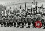 Image of Austrian independence ceremony 1955 Vienna Austria, 1955, second 31 stock footage video 65675062931
