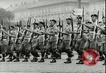 Image of Austrian independence ceremony 1955 Vienna Austria, 1955, second 32 stock footage video 65675062931
