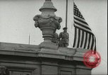 Image of Austrian independence ceremony 1955 Vienna Austria, 1955, second 44 stock footage video 65675062931