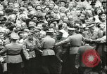 Image of Austrian independence ceremony 1955 Vienna Austria, 1955, second 53 stock footage video 65675062931