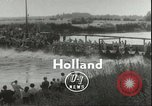 Image of Junior swimming championship Holland Netherlands, 1955, second 5 stock footage video 65675062936