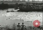 Image of Junior swimming championship Holland Netherlands, 1955, second 11 stock footage video 65675062936