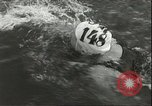 Image of Junior swimming championship Holland Netherlands, 1955, second 13 stock footage video 65675062936