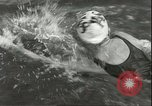 Image of Junior swimming championship Holland Netherlands, 1955, second 14 stock footage video 65675062936