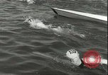 Image of Junior swimming championship Holland Netherlands, 1955, second 16 stock footage video 65675062936