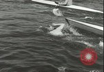 Image of Junior swimming championship Holland Netherlands, 1955, second 19 stock footage video 65675062936