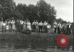 Image of Junior swimming championship Holland Netherlands, 1955, second 25 stock footage video 65675062936
