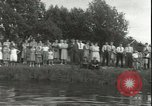 Image of Junior swimming championship Holland Netherlands, 1955, second 26 stock footage video 65675062936