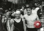 Image of Junior swimming championship Holland Netherlands, 1955, second 42 stock footage video 65675062936