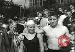 Image of Junior swimming championship Holland Netherlands, 1955, second 43 stock footage video 65675062936