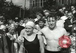 Image of Junior swimming championship Holland Netherlands, 1955, second 45 stock footage video 65675062936