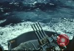 Image of USS Yorktown during Battle of Midway in World War II Pacific Ocean, 1942, second 4 stock footage video 65675062938