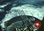 Image of USS Yorktown during Battle of Midway in World War II Pacific Ocean, 1942, second 5 stock footage video 65675062938