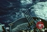 Image of USS Yorktown during Battle of Midway in World War II Pacific Ocean, 1942, second 7 stock footage video 65675062938
