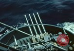 Image of USS Yorktown during Battle of Midway in World War II Pacific Ocean, 1942, second 12 stock footage video 65675062938
