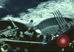 Image of USS Yorktown during Battle of Midway in World War II Pacific Ocean, 1942, second 17 stock footage video 65675062938