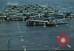 Image of USS Yorktown during Battle of Midway in World War II Pacific Ocean, 1942, second 21 stock footage video 65675062938