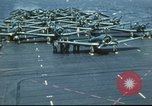 Image of USS Yorktown during Battle of Midway in World War II Pacific Ocean, 1942, second 22 stock footage video 65675062938