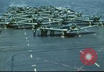 Image of USS Yorktown during Battle of Midway in World War II Pacific Ocean, 1942, second 24 stock footage video 65675062938