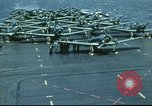 Image of USS Yorktown during Battle of Midway in World War II Pacific Ocean, 1942, second 25 stock footage video 65675062938