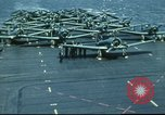 Image of USS Yorktown during Battle of Midway in World War II Pacific Ocean, 1942, second 27 stock footage video 65675062938