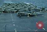Image of USS Yorktown during Battle of Midway in World War II Pacific Ocean, 1942, second 28 stock footage video 65675062938