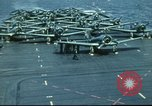 Image of USS Yorktown during Battle of Midway in World War II Pacific Ocean, 1942, second 29 stock footage video 65675062938