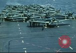 Image of USS Yorktown during Battle of Midway in World War II Pacific Ocean, 1942, second 30 stock footage video 65675062938