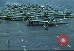 Image of USS Yorktown during Battle of Midway in World War II Pacific Ocean, 1942, second 31 stock footage video 65675062938