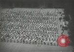 Image of Japanese children bow at shrine on the way to school Japan, 1939, second 22 stock footage video 65675062944