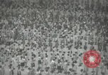 Image of Japanese children bow at shrine on the way to school Japan, 1939, second 24 stock footage video 65675062944