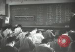 Image of Japanese children bow at shrine on the way to school Japan, 1939, second 55 stock footage video 65675062944