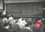 Image of Japanese children bow at shrine on the way to school Japan, 1939, second 62 stock footage video 65675062944