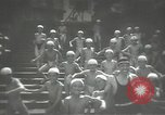 Image of Japanese schoolboys in gymnasium Japan, 1939, second 8 stock footage video 65675062945