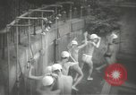 Image of Japanese schoolboys in gymnasium Japan, 1939, second 14 stock footage video 65675062945