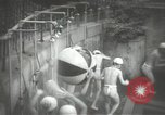 Image of Japanese schoolboys in gymnasium Japan, 1939, second 17 stock footage video 65675062945