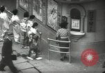 Image of Patrons of Japanese theater Japan, 1939, second 1 stock footage video 65675062951