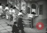 Image of Patrons of Japanese theater Japan, 1939, second 2 stock footage video 65675062951