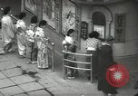 Image of Patrons of Japanese theater Japan, 1939, second 3 stock footage video 65675062951