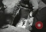 Image of excavation work Africa, 1955, second 21 stock footage video 65675062963