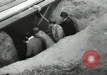 Image of excavation work Africa, 1955, second 32 stock footage video 65675062963