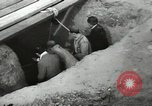 Image of excavation work Africa, 1955, second 33 stock footage video 65675062963