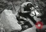 Image of excavation work Africa, 1955, second 45 stock footage video 65675062963