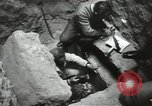 Image of excavation work Africa, 1955, second 46 stock footage video 65675062963