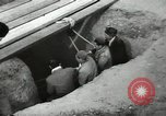Image of excavation work Africa, 1955, second 53 stock footage video 65675062963