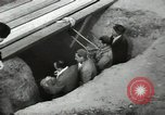 Image of excavation work Africa, 1955, second 54 stock footage video 65675062963